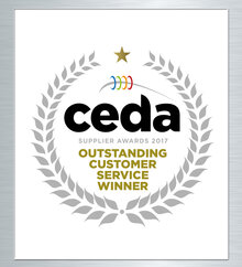 CEDA Outstanding Customer Service Winner 2017